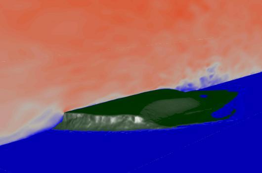 Simulation einer bodennahen Windströmung mittels CFD